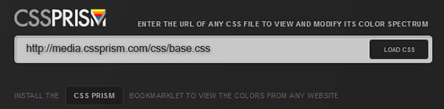 Css Prism Interface