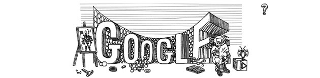 Google Doodle zu Stanislaw Lem