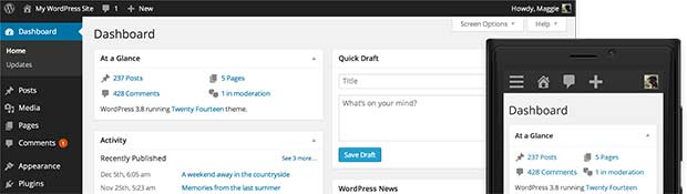 "WordPress 3.8 ""Parker"" released"