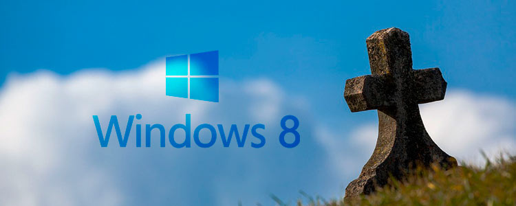 Support für Windows 8 eingestellt